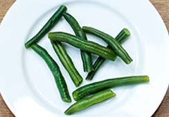 Green Beans - about 1 ½ tablespoon