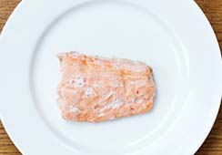 1/2 small fillet of salmon